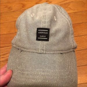 American Eagle Outfitters AEO Gray Adjustable Hat